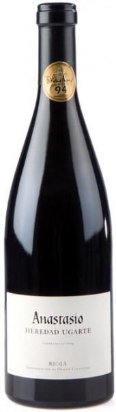Anastasio Bod. Ugarte Eguren Barrique Tempranillo DOCa Rioja Spanien 0,75 l