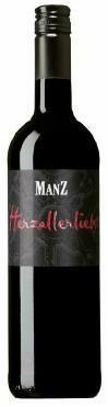 Manz Herzallerliebst Rotwein Cuvée feinherb Rheinhessen 0,75 l