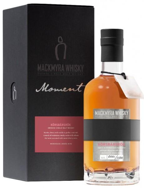 Mackmyra KÖRSBÄRSRÖK Moment 43% vol. Swedish Single Malt Whisky 0,7 l