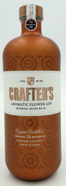 Crafter's Aromatic Flowers London Dry Gin 44,3% vol. 0,7l