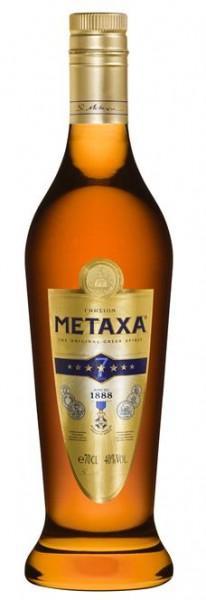 Metaxa 7 Sterne 40% vol. griechischer Weinbrand 0,7 l