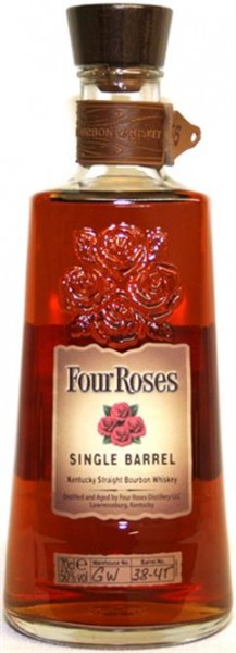 Four Roses Single Barrel 50% Vol. Kentucky Bourbon Whiskey 0,7 l