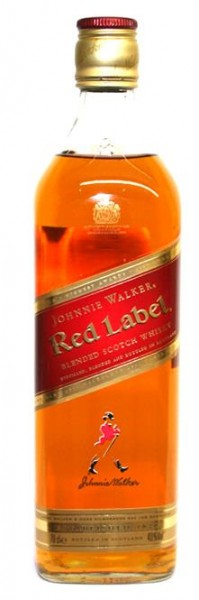 Johnnie Walker Red Label 40% vol. Blended Scotch Whisky 0,7 l