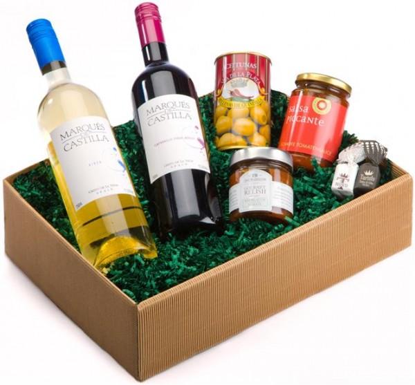Weinpräsent Torrero Vino, Relish, Salsa, Oliven & Tartufi