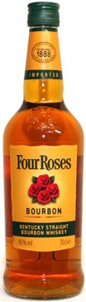 Four Roses 40% vol. Kentucky Staight Bourbon 0,7 l