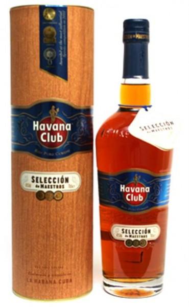 Havana Club Selection de Maestros 45% vol. Rum aus Cuba 0,7 l