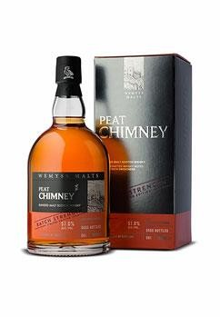Peat Chimney Wemyss Malt 57% vol. 0,7 l Blended Malt Scotch, Batch Strength