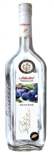 Scheibel Schlehen-Geist Premium 0,7 l 41% vol.2 J.gelagert.2-fach destilliert
