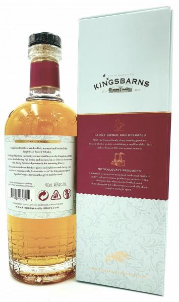 Kingsbarns Balcomie 46% vol. Lowland Single Malt 0,7l