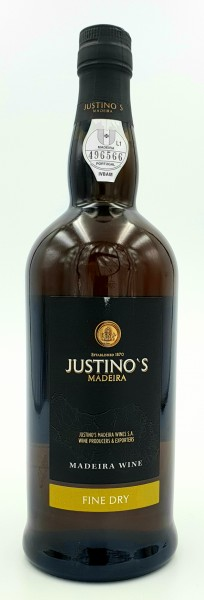 Justino Madeira Fine Dry secco 19% vol. 0,75 l