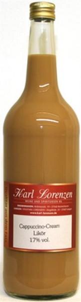 Cappuccino Creme Likör 17% vol. vom Fass feinwürzig und duftig nach Cappuccino