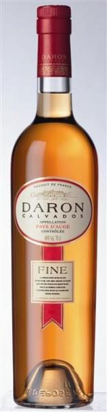 Calvados DARON Fine 40 % vol. 5 Jahre alt 0,7 l