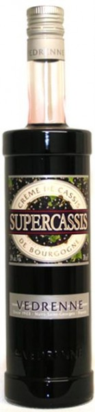Creme de Cassis Nuits-St-Georges 20% vol Supercassis Vedrenne ,0,7 l